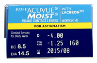 1 day acuvue moist for astigmatism prescription
